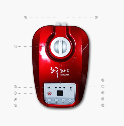 Hot water boiler of electric hot water pad